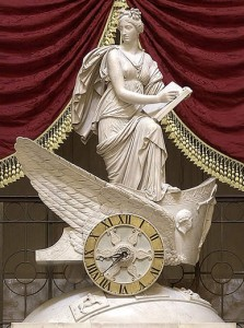 Clio, the Muse of History, in National Statuary Hall, the Capitol