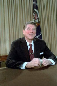 Reagan Addressing the American People on the Economy