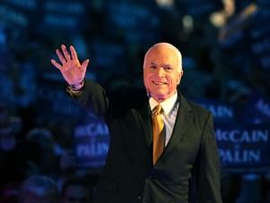 John McCain Giving His Acceptance Speech