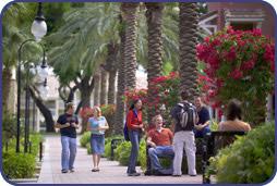 El Prado--The Main Walkway on Campus