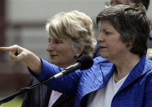 Janet Napolitano: Head of Homeland Security?