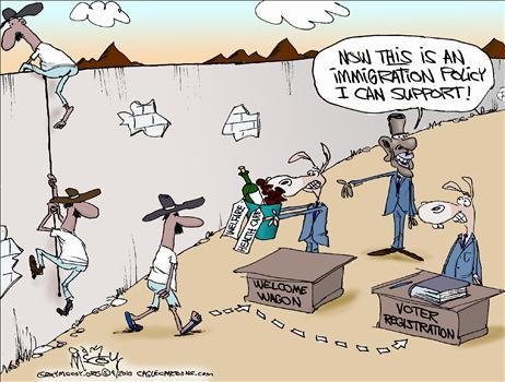 Illegals—Go Greyhound? Welcome-Wagon