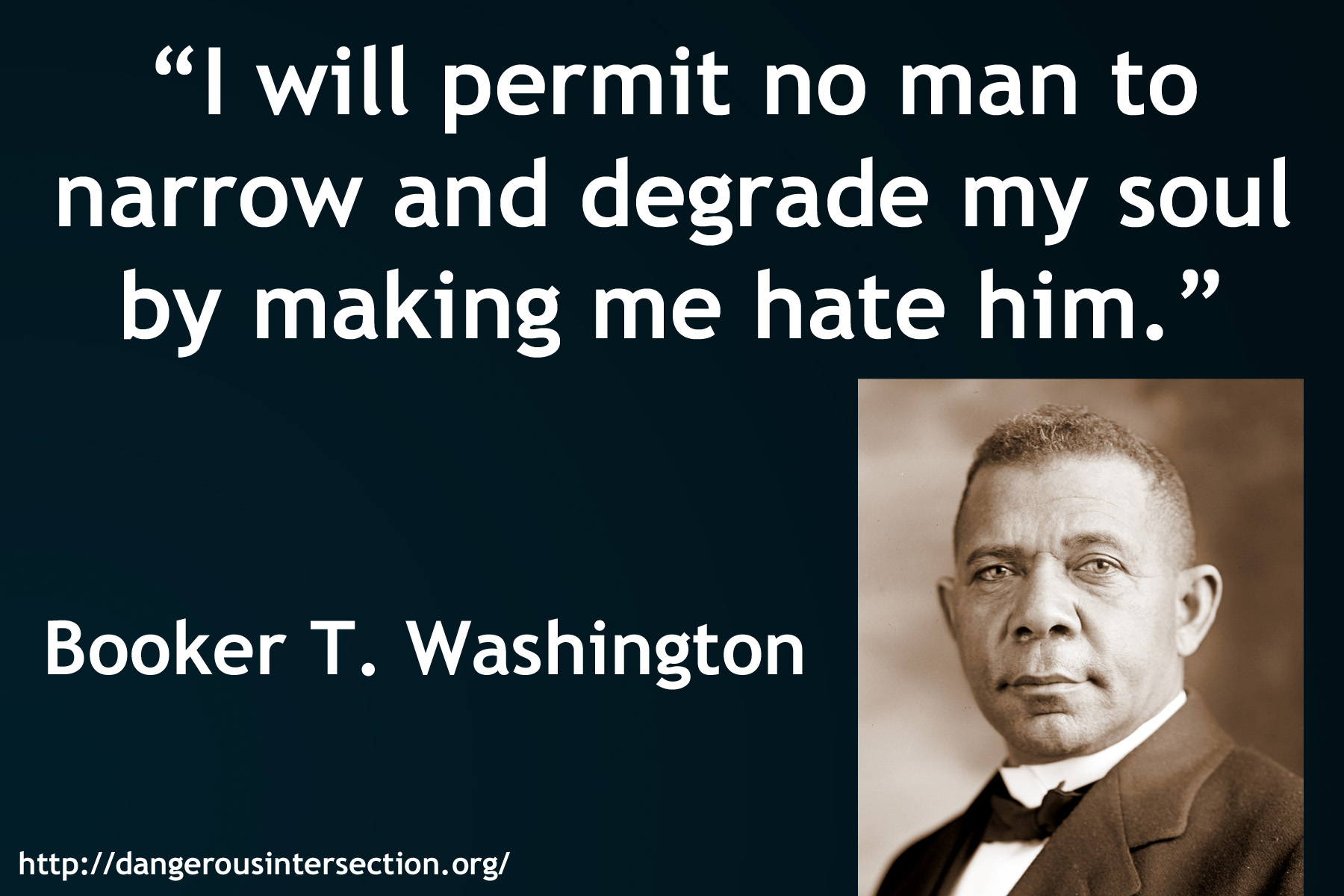 essay booker t washington