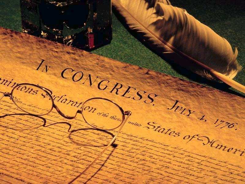 Declaration Closeup