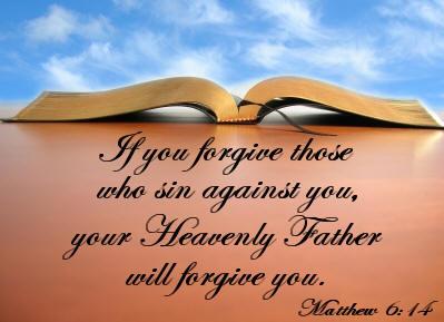 Forgiveness Scripture