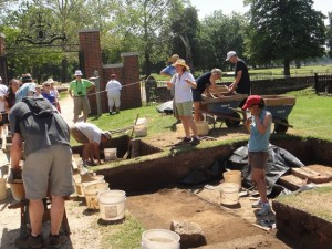 Jamestown Archaeology Dig 4