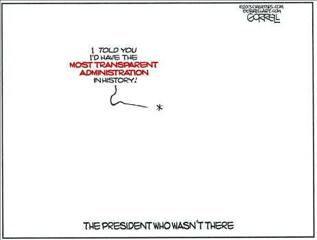 Most Transparent Administration