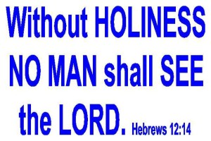 Hebrews Holiness