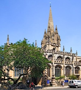 Oxford Church of St. Mary