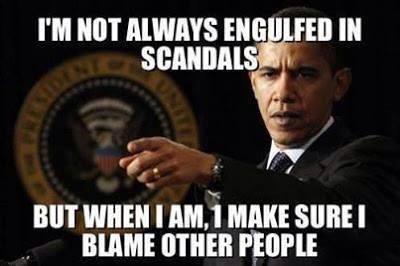Engulfed in Scandals