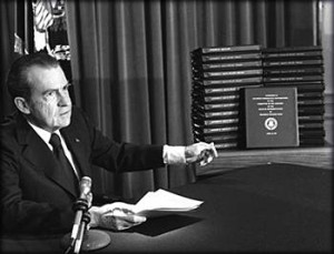 Richard Nixon & Watergate Tapes
