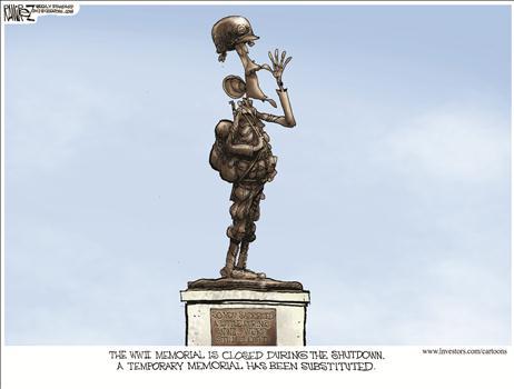 Temporary Memorial