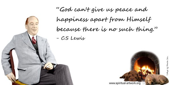 cs lewis essay on happiness