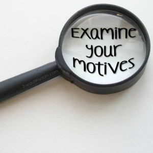 Examine Motives