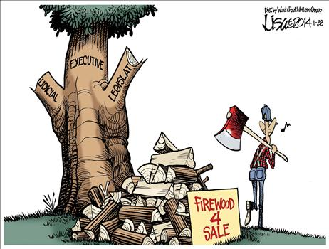 Obama Explains the Proper form of government / Congress Helps