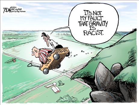 Gravity Racist