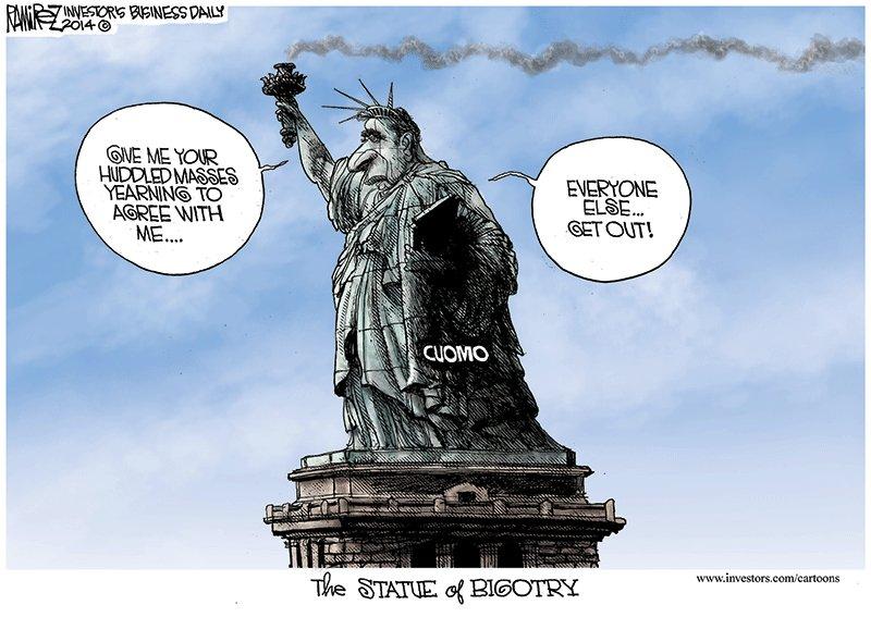 Statue of Bigotry