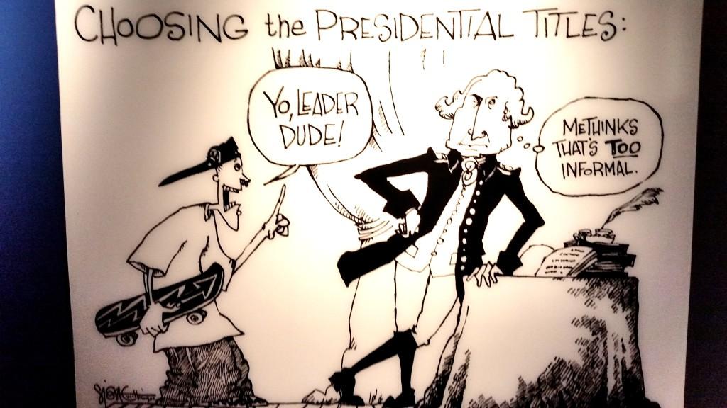 Washington Cartoon