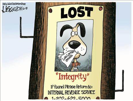 Lost Integrity