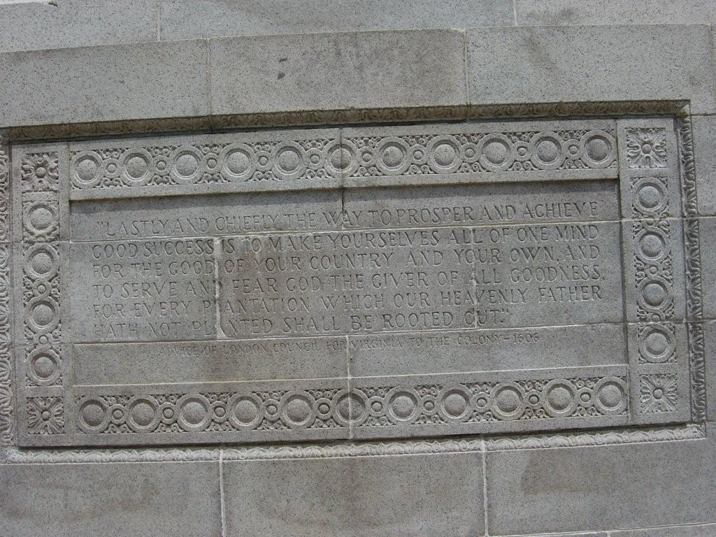 Jamestown--Advice of London Council