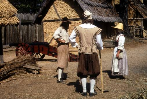 an introduction to the history of jamestown and plymouth in the united states of america Chapter 9 american history introduction the history of the united states is the first successful english colony in north america was founded at jamestown.