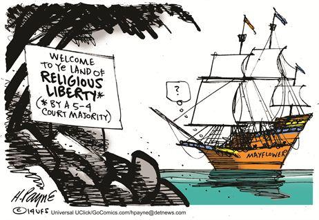 Land of Religious Liberty