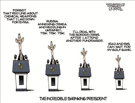 Shrinking President