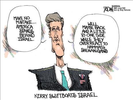 Stands Behind Israel