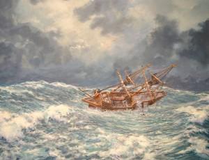 John Howland Overboard
