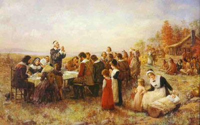The Pilgrim Story: Harmony with the Natives? :Pondering ...