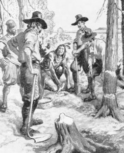 Squanto Helping Pilgrims