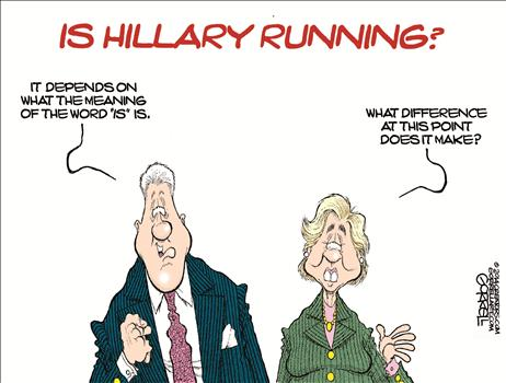 Is Hillary Running