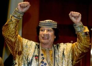 Moammar Qaddafi