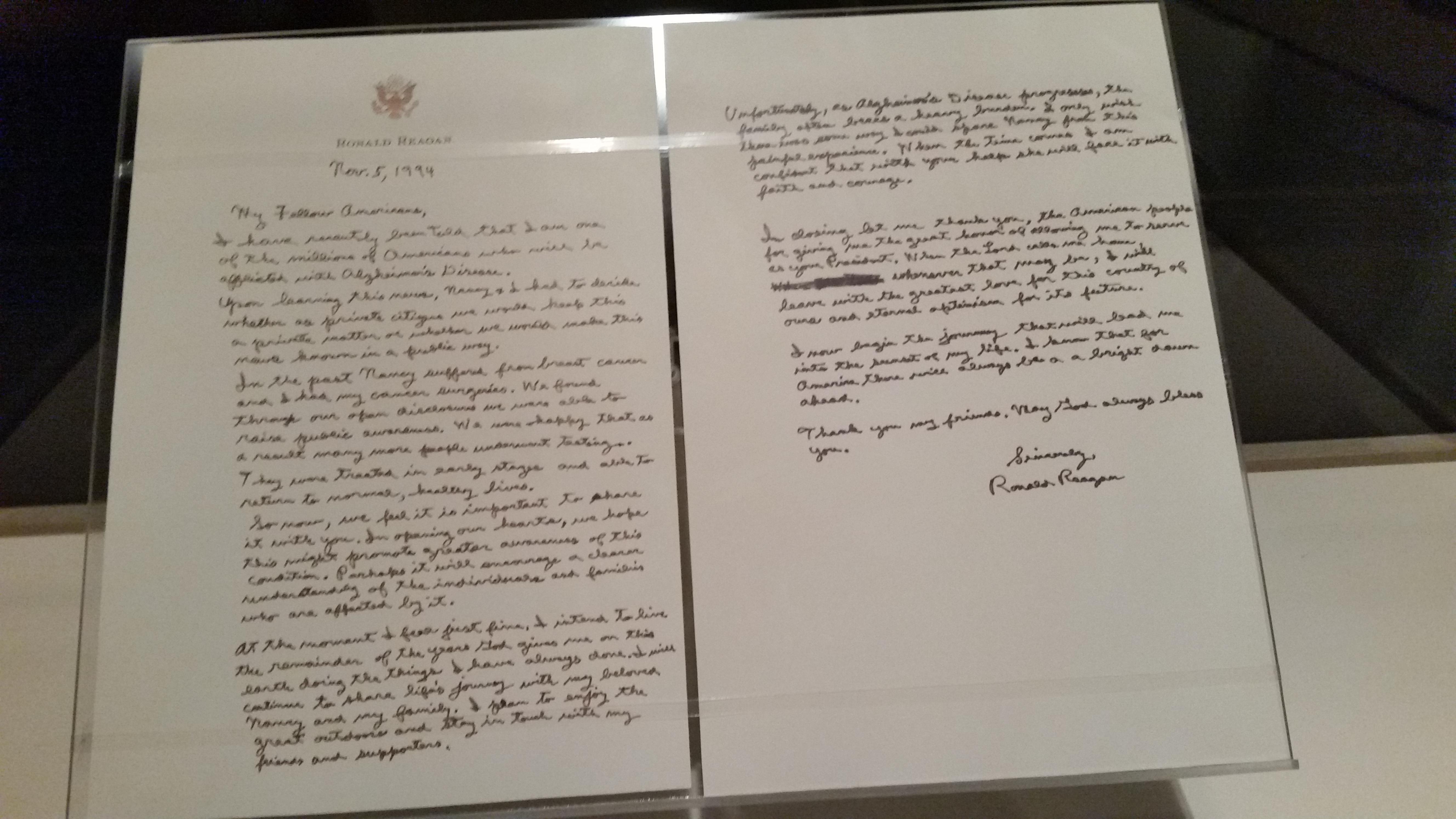 Reagan s Presidential Library Pondering Principles