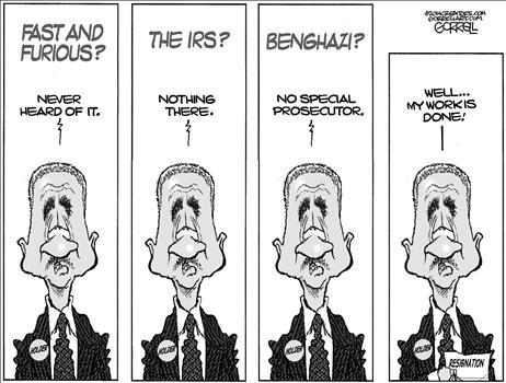Holder Scandals