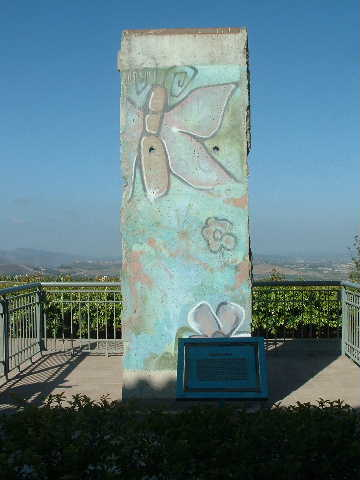 Berlin Wall Reagan Library