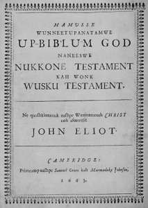 John Eliot's Bible
