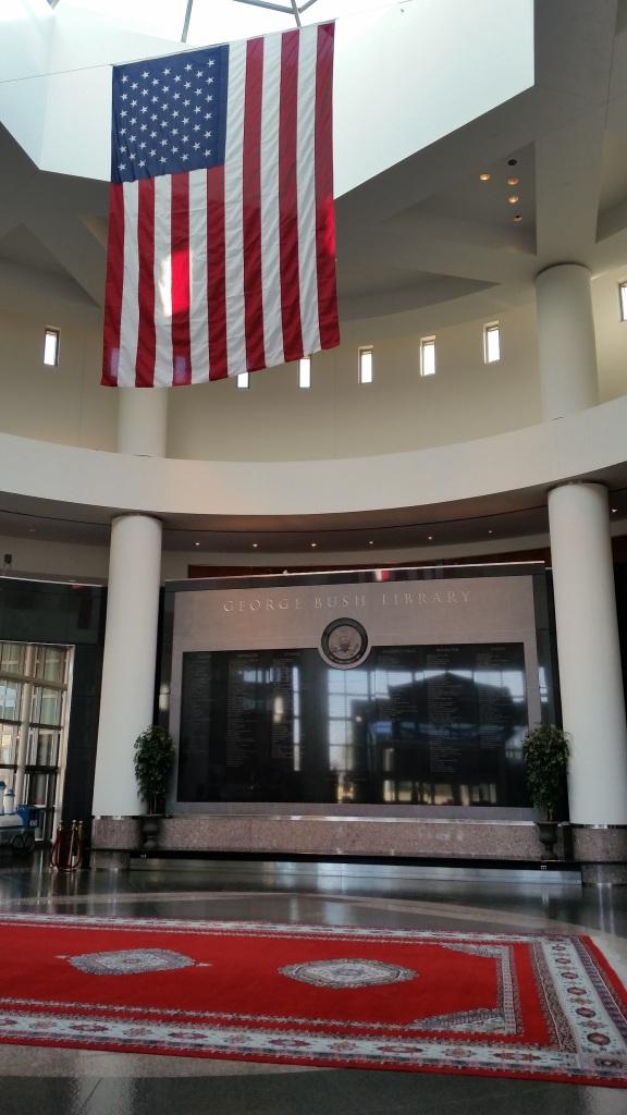 Bush Library Lobby 2