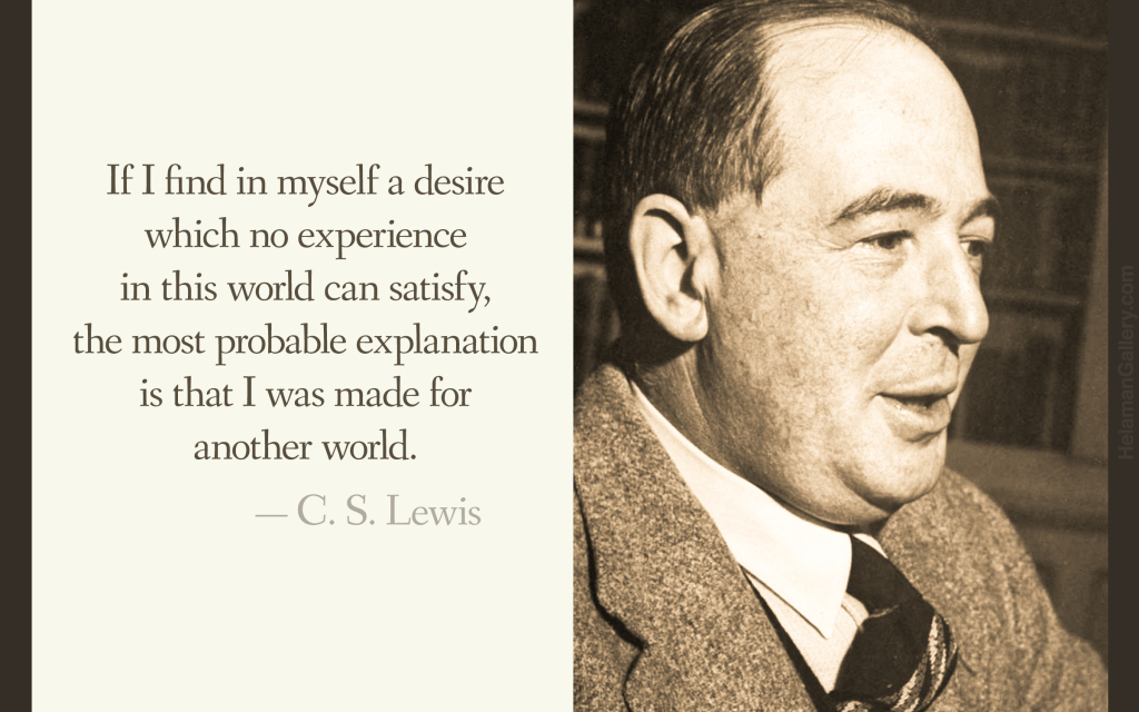 C.S. Lewis Quote on Heaven