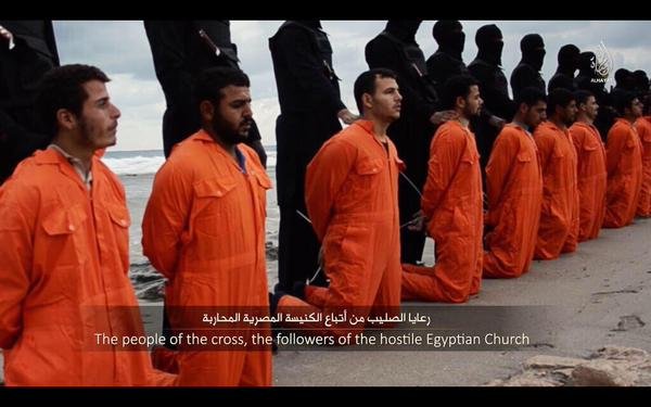 Beheading Christians
