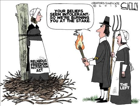 Burning at Stake