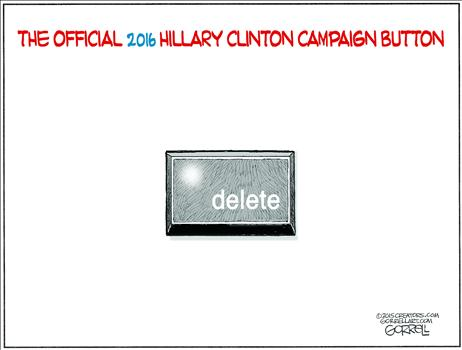 Clinton Campaign Button
