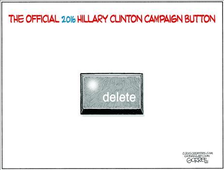 Clinton Campaign Button
