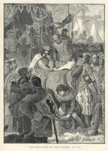 Magna Carta-King John