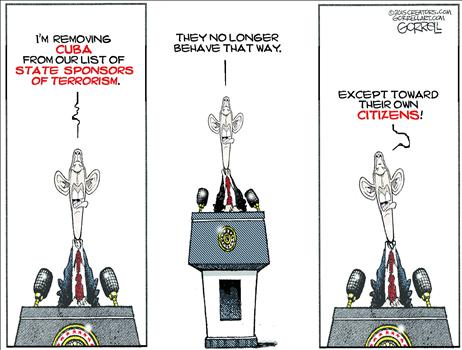 Removing Cuba
