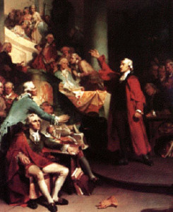 Patrick Henry's Stamp Act Speech