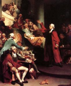 Patrick Henry's Stamp Act Speech