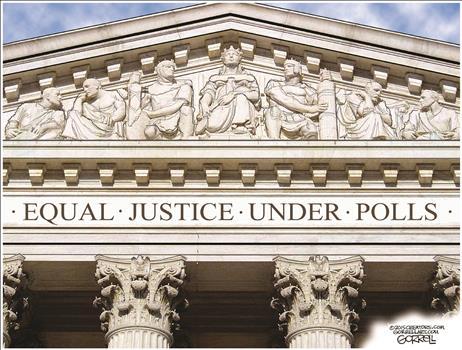 Equal Justice Under Polls