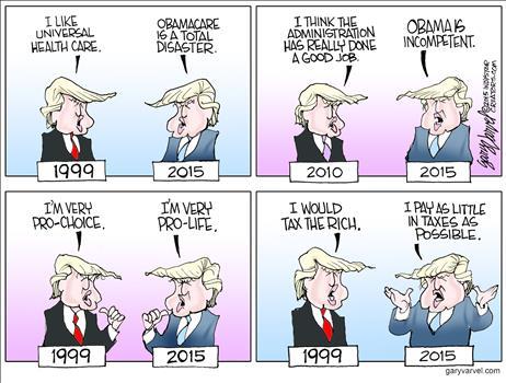 Trump's Changed Mind