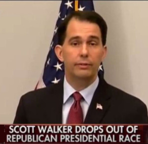 Scott Walker Suspends
